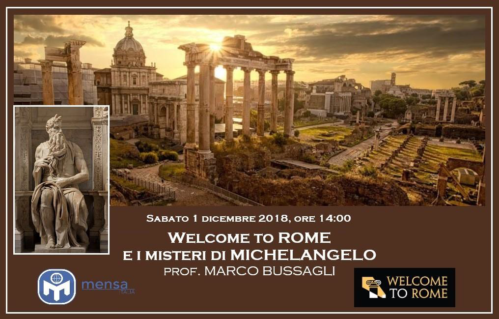Welcome to Rome e I misteri di Michelangelo