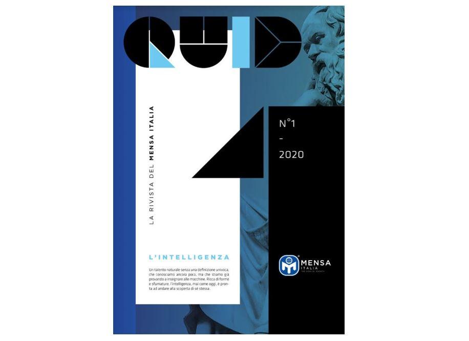 30.1.2020 Nasce QUID, la Rivista del Mensa Italia