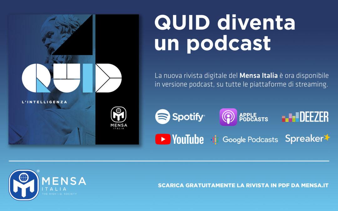 Nasce il  podcast ufficiale del Mensa Italia
