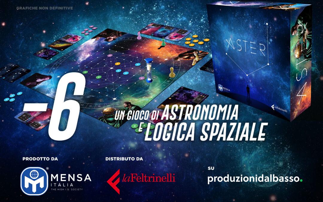 Aster: verso la nuova creazione ludica del Mensa Italia