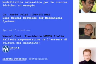 25 Febbraio – Il Mensa Italia partecipa al workshop Futuro in Area – CNR Bari