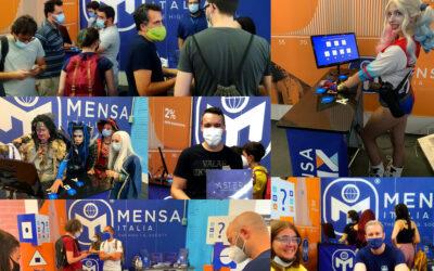 3-5 settembre 2021: seconda presenza del Mensa al Modena Play